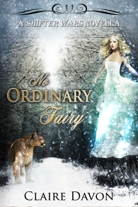 No Ordinary Fairy final cover-Claire Davon
